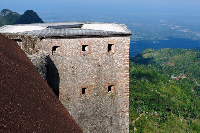 海地山堡垒- Citadelle Laferrière 免版税库存图片