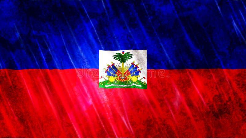 海地旗子 皇族释放例证