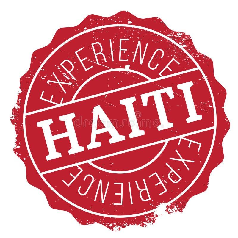 海地邮票橡胶难看的东西 向量例证