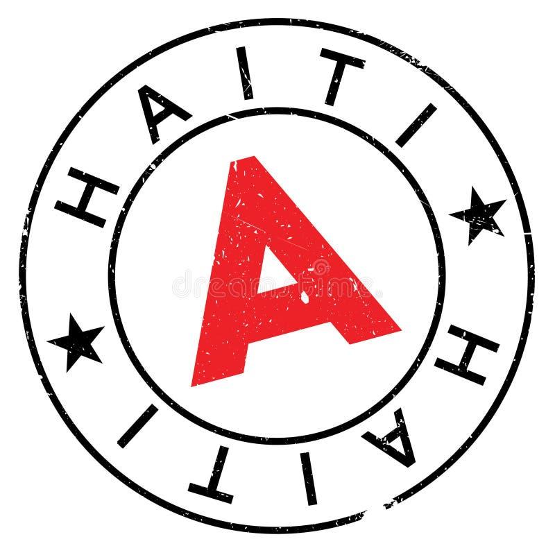 海地邮票橡胶难看的东西 皇族释放例证