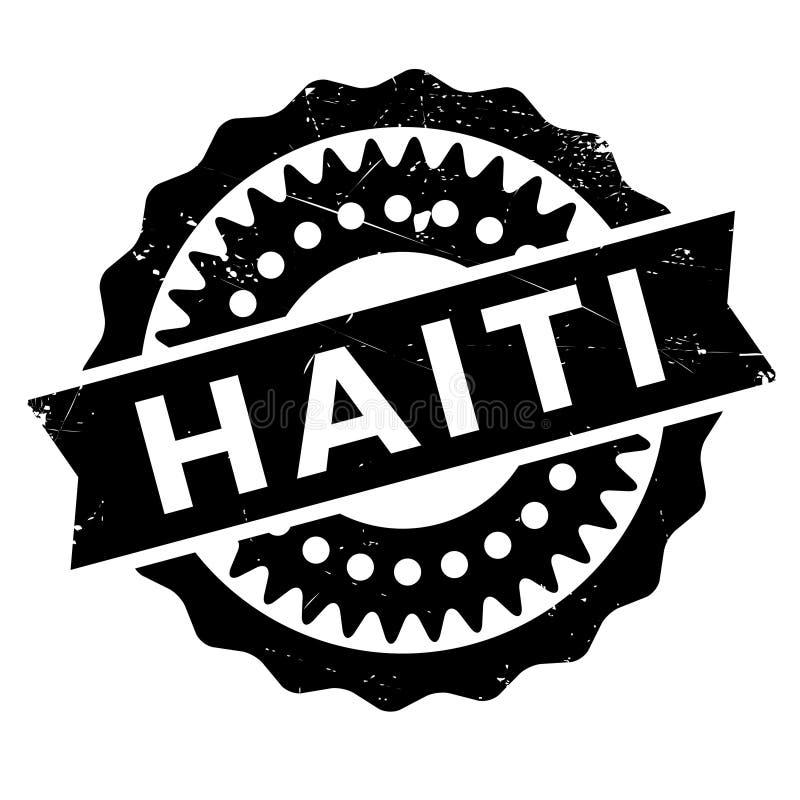 海地邮票橡胶难看的东西 库存例证