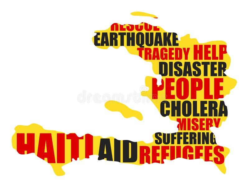 海地 向量例证