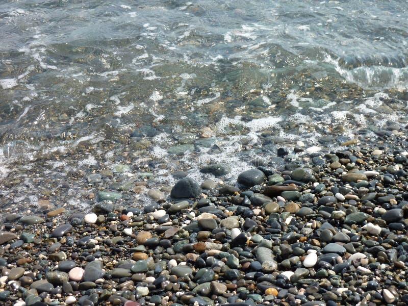 海小卵石 库存照片