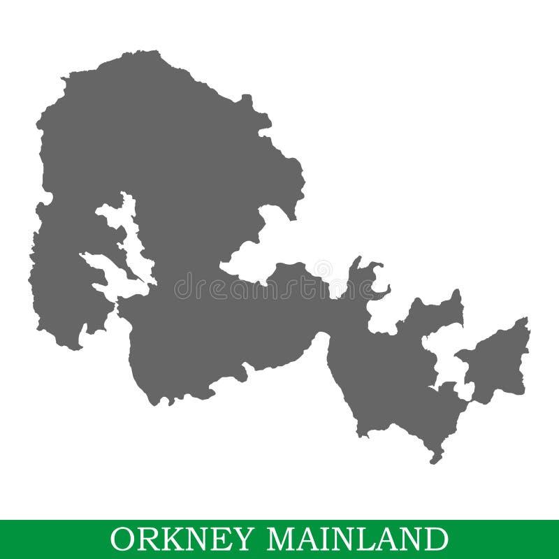 海岛优质地图  向量例证