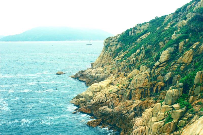 海岛和海洋 库存图片