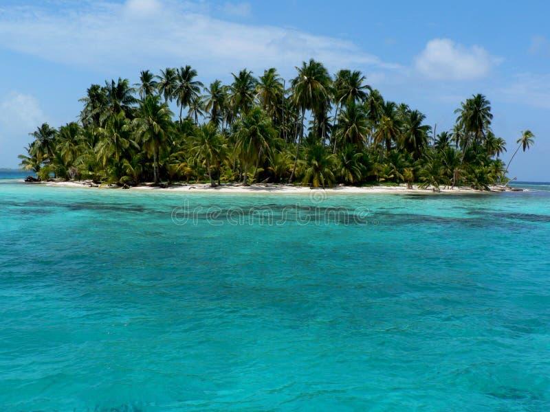 海岛巴拿马天堂 库存图片
