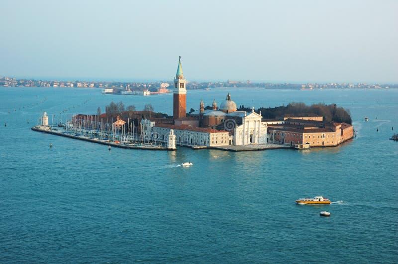 海岛意大利威尼斯式盐水湖的murano 免版税库存图片