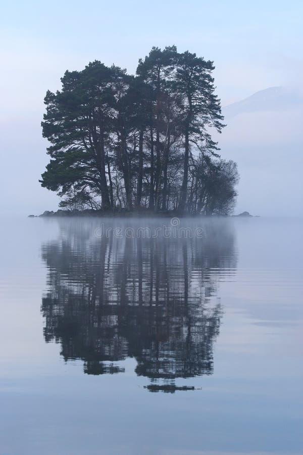 海岛无名的苏格兰人 库存图片