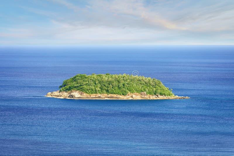 海岛普吉岛rawai热带的泰国 库存图片