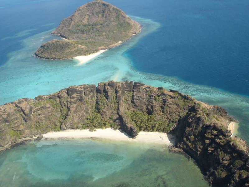 海岛海峡torres 库存照片