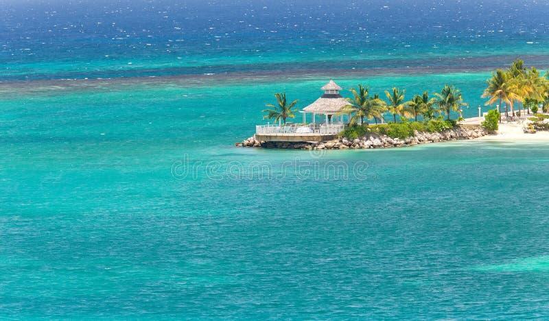 海岛牙买加ocho rios 库存照片