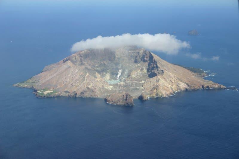海岛白色 免版税库存图片