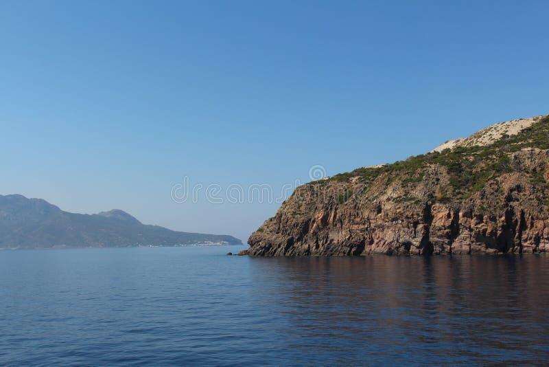 海岛的角落 免版税库存照片
