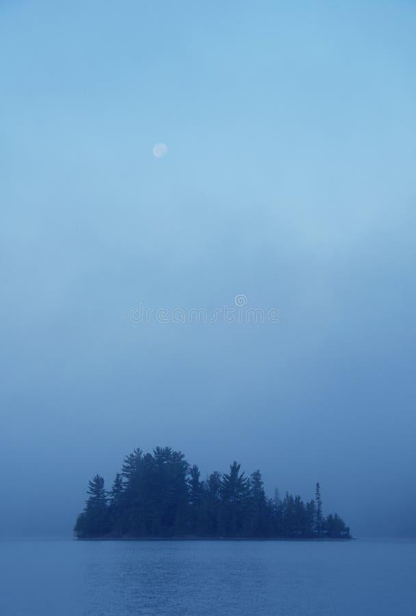 海岛薄雾 免版税图库摄影