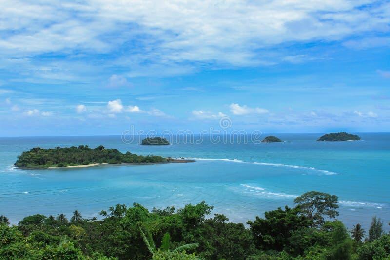 海岛,海,热带气候,气候,夏天 免版税图库摄影