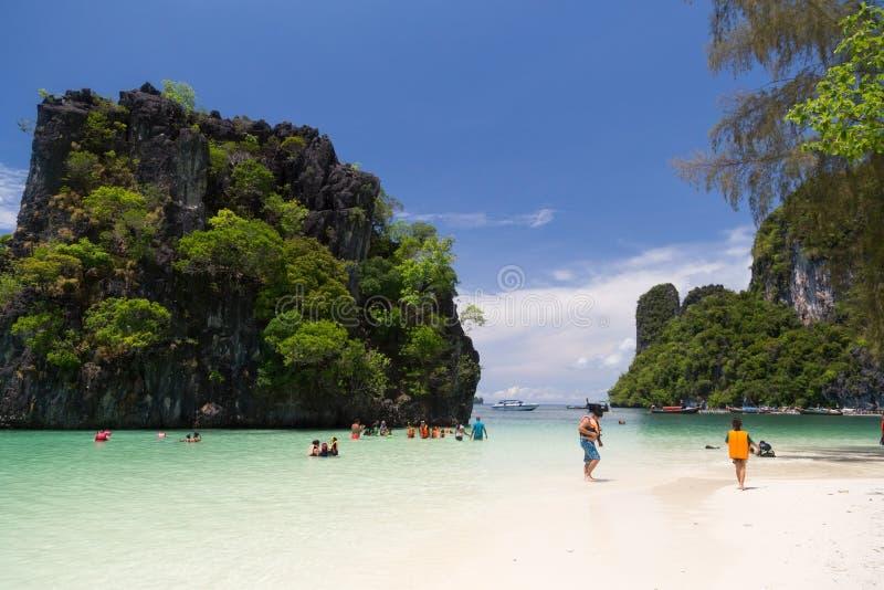 洪海岛, Krabi,泰国 库存照片