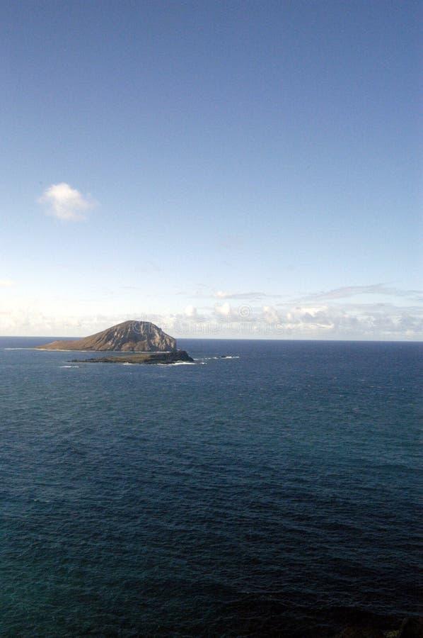 海岛makapu点u 库存照片