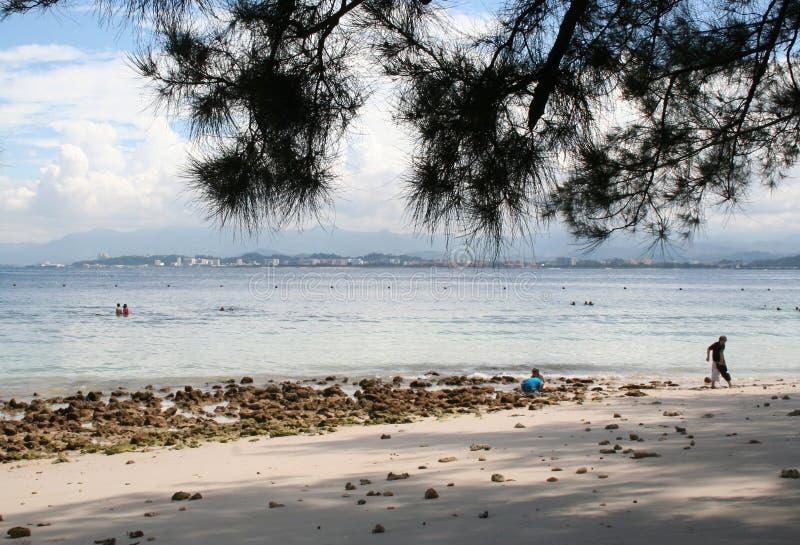 海岛mamutik 免版税库存图片