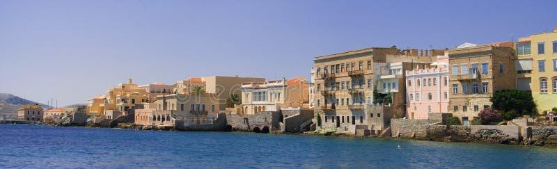 海岛syros 免版税库存照片
