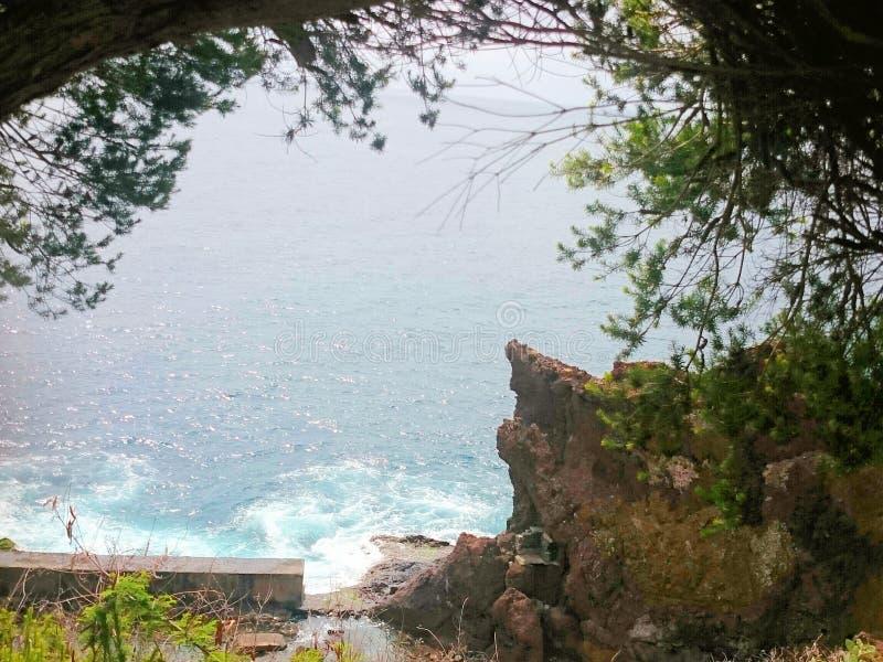 海岩石 免版税库存照片