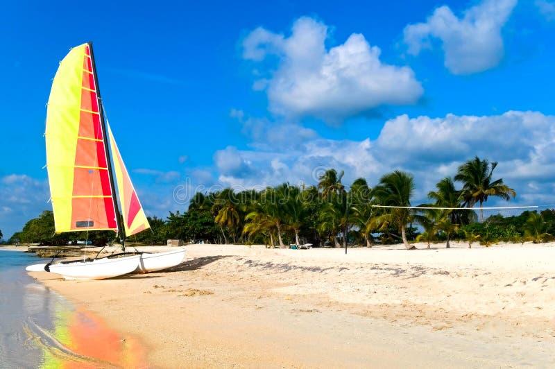 海岸古巴 图库摄影