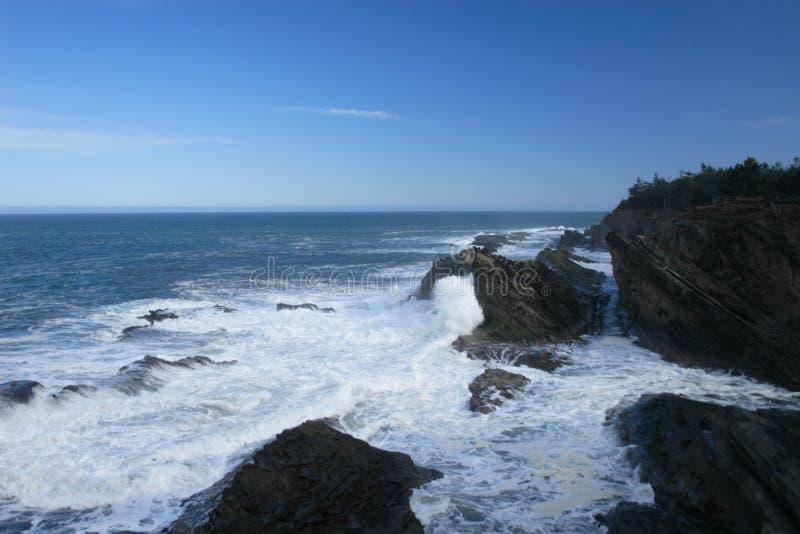 海岸和平强大 免版税库存图片