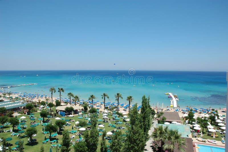 海岸塞浦路斯 库存照片