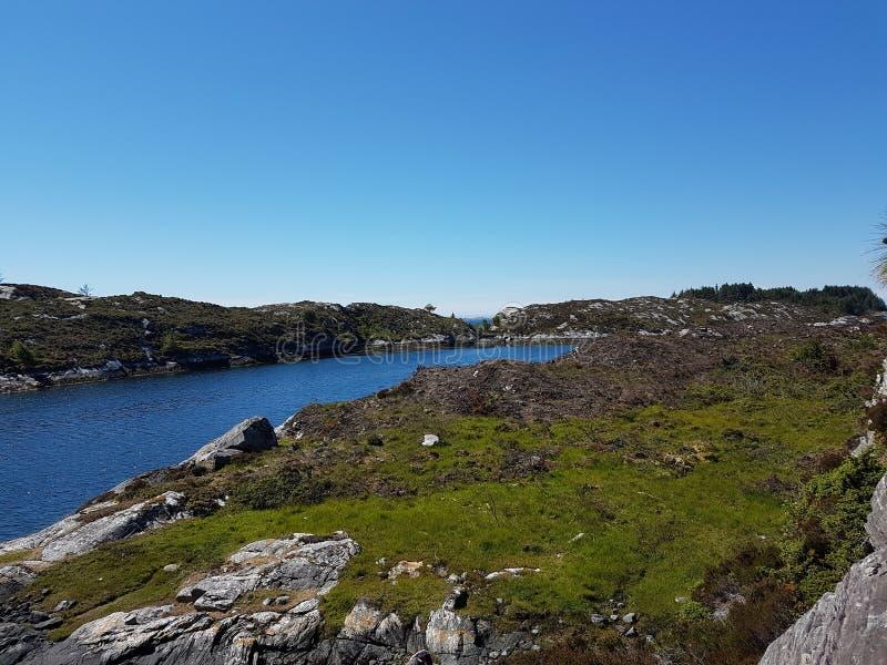 海岸挪威 免版税库存照片