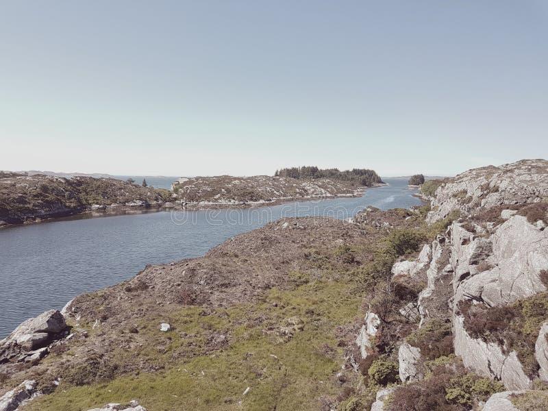海岸挪威 免版税库存图片