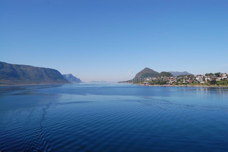 海岸挪威 库存图片