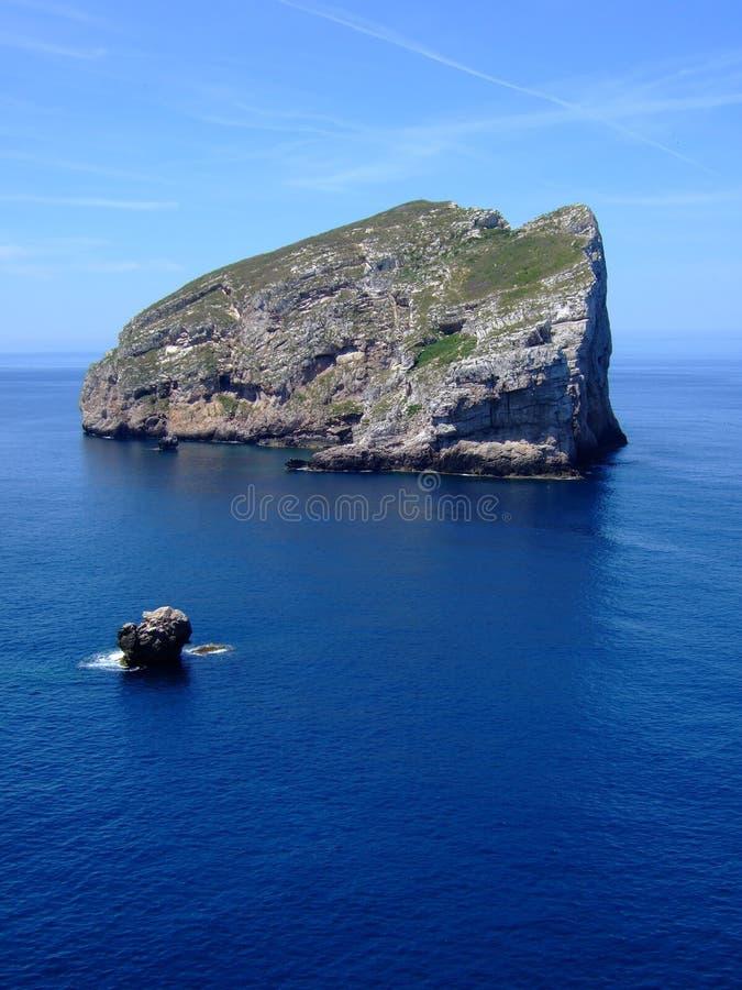 海岸撒丁岛 免版税图库摄影