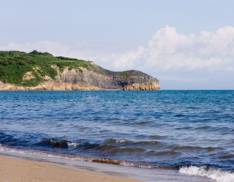 海岸日本海 图库摄影