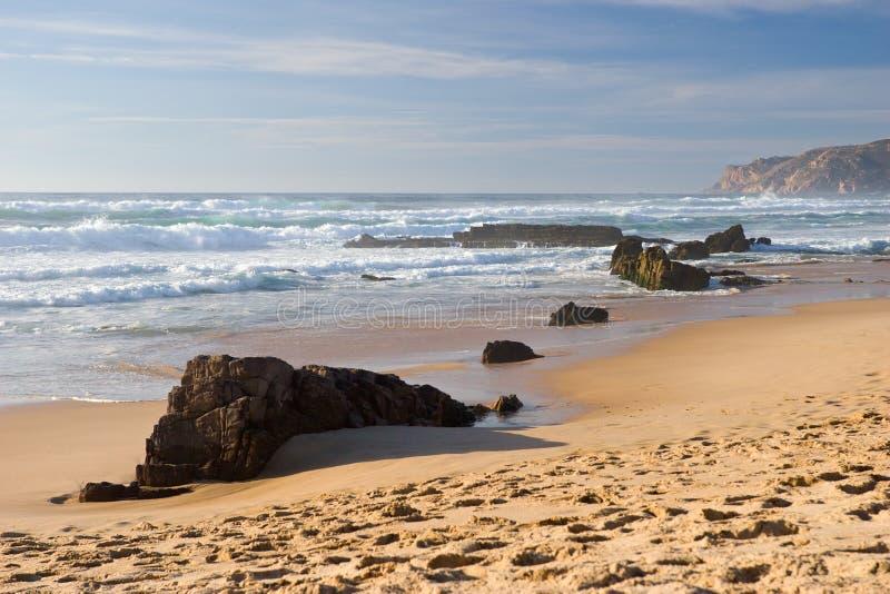 海岸海洋 免版税库存图片