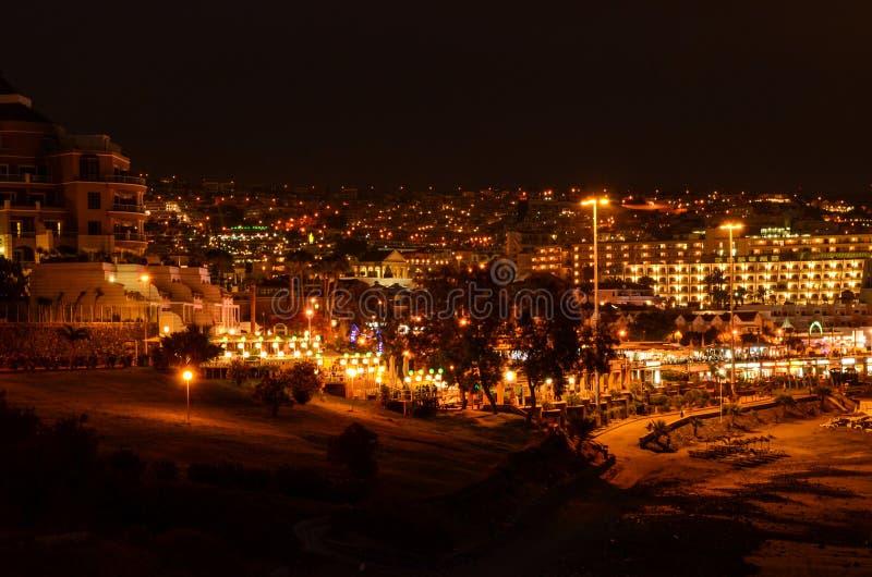 海岸的夜 库存图片