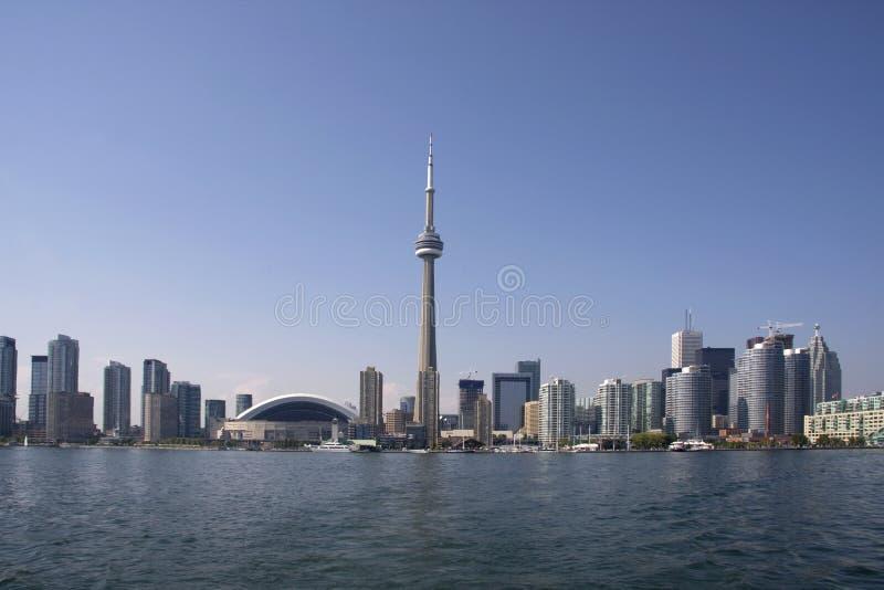 海岸线白天多伦多 免版税库存图片
