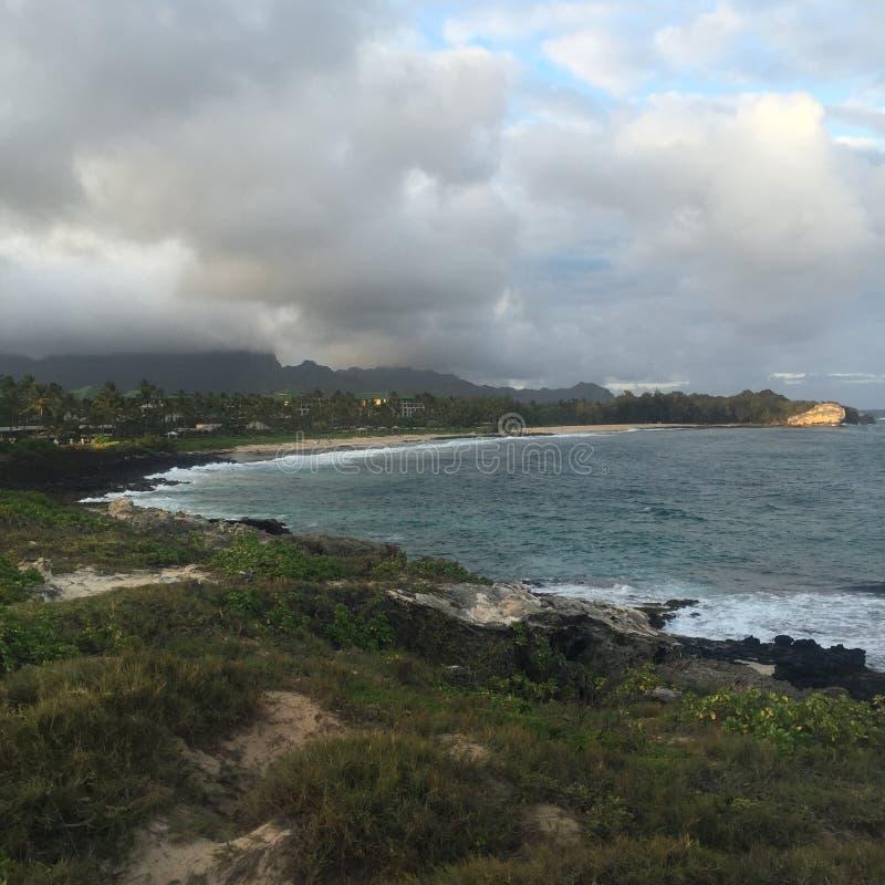 海岸线的秀丽 免版税图库摄影