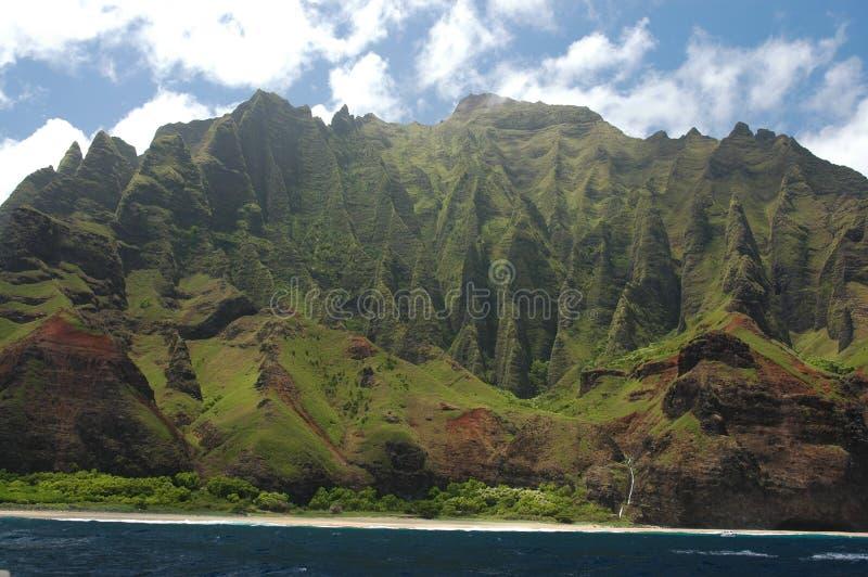 海岸线考艾岛 库存图片