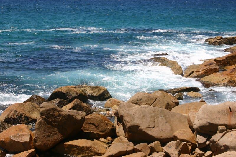 海岸线nsw 免版税图库摄影