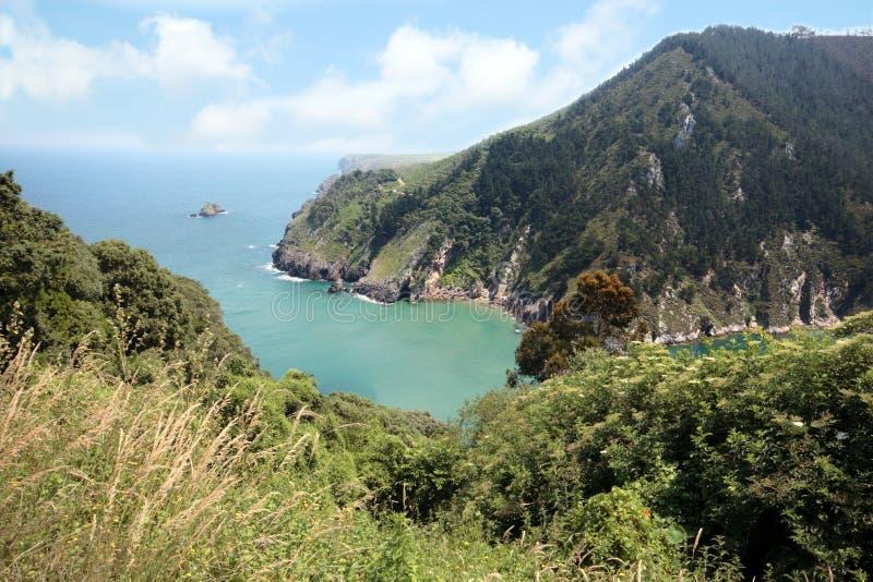 海岸西班牙语 免版税图库摄影