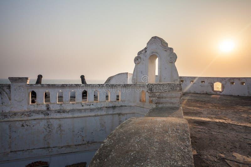 海岸角城堡,加纳,西非 图库摄影
