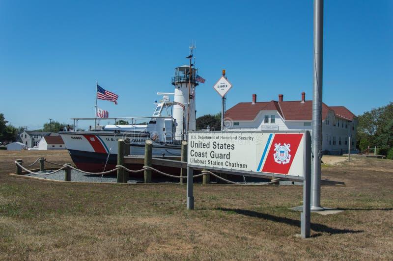 海岸警卫队我们 免版税库存图片