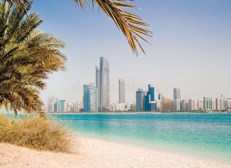 海岸迪拜海湾 库存图片