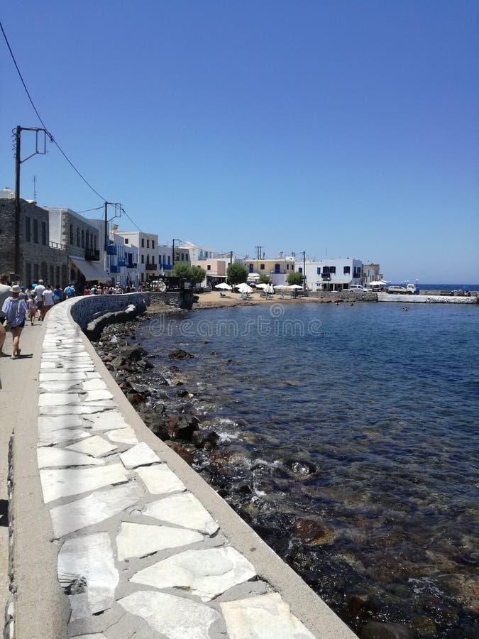 海岸, Mandraki 库存图片