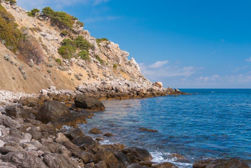 黑海岸 库存照片