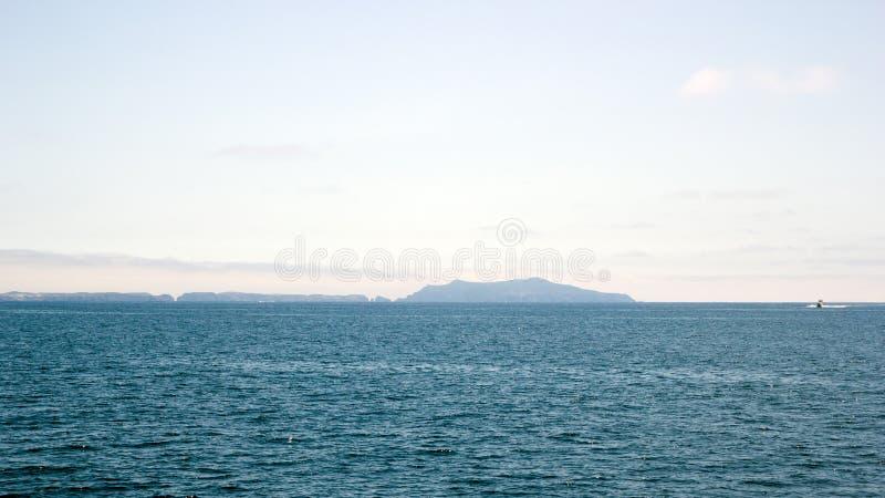 海峡群岛,加利福尼亚 库存照片