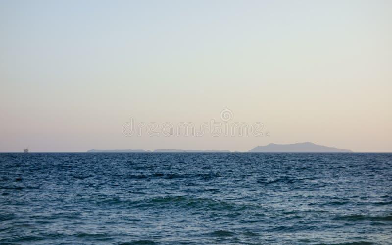 海峡群岛,南加州 免版税库存图片