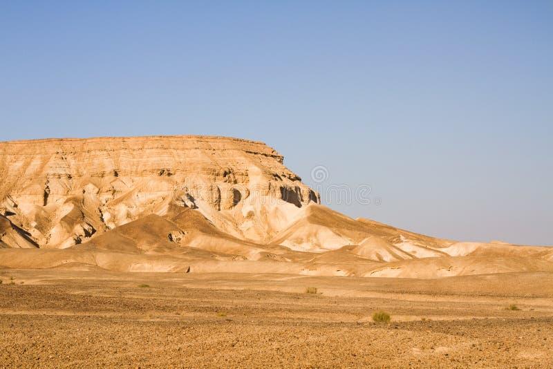 死海峭壁 免版税图库摄影