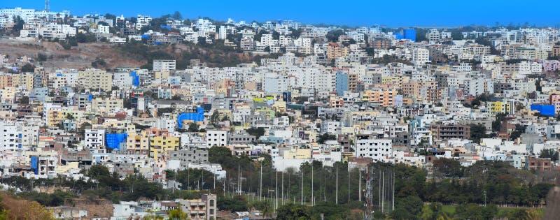 海得拉巴市在印度 免版税库存照片