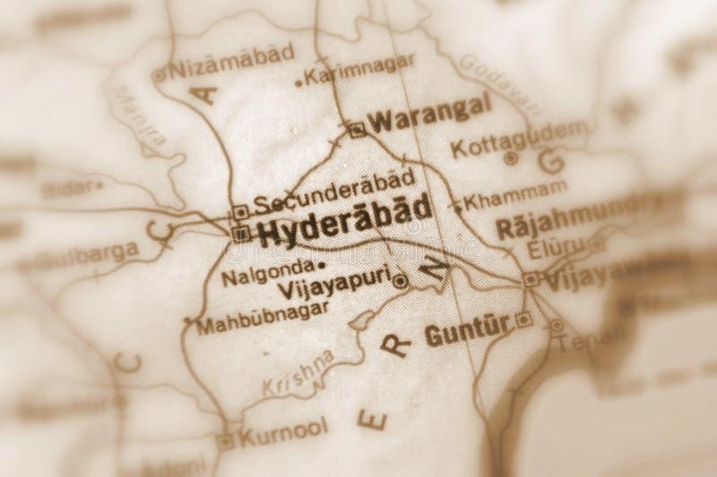 海得拉巴,一个城市在印度 图库摄影