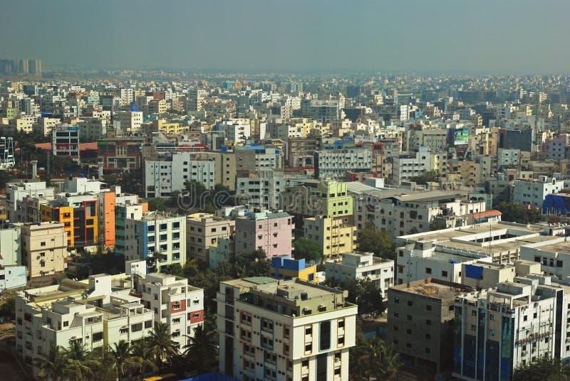 海得拉巴城市视图  免版税库存照片